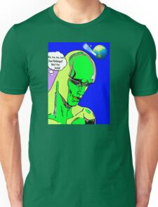 Alien Invasion from another galaxy Unisex T-Shirt