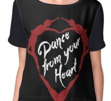 Dance from your heart Chiffon Top