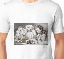 Fruits of the seasons - 1870 - Currier & Ives Unisex T-Shirt