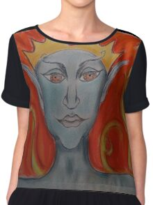The Fire King Chiffon Top