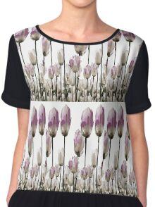 Tulip flowers Chiffon Top