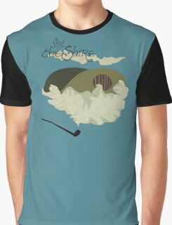 The Shire Vintage Travel Poster Graphic T-Shirt