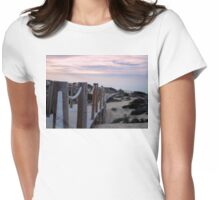 Guincho Beach 4 Womens Fitted T-Shirt