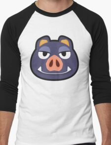 BORIS ANIMAL CROSSING Men's Baseball ¾ T-Shirt