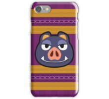 BORIS ANIMAL CROSSING iPhone Case/Skin