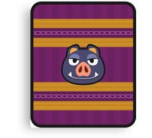 BORIS ANIMAL CROSSING Canvas Print