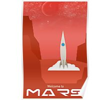 Welcome to Mars Poster