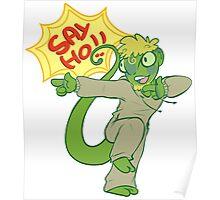 """Meleoron """"SAY HO!!"""" Poster"""