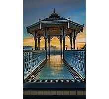The Victorian Bandstand at Brighton Photographic Print
