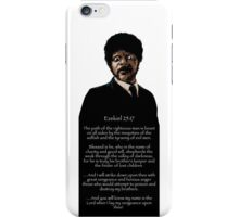 Samuel Jackson - Ezekiel Speech Pulp Fiction 1 iPhone Case/Skin