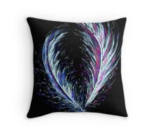 Love Feathers Throw Pillow