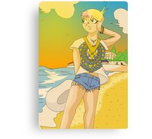 Raiden Legacy - Sunset Beach (Chill) Canvas Print