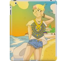 Raiden Legacy - Sunset Beach (Chill) iPad Case/Skin