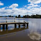 Tumbulgum Jetty by sarcalder