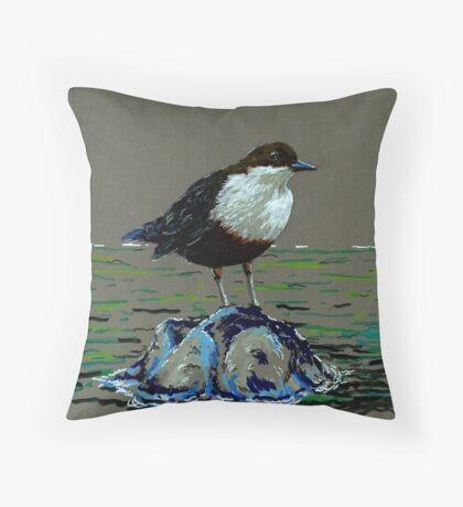 Dapper Dipper Throw Pillow