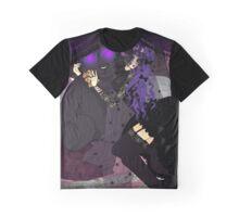 GothicLolita&TeddyBear Graphic T-Shirt