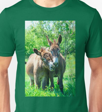 Pair of Donkeys Unisex T-Shirt