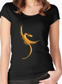 Chinese Dragon Women's Fitted Scoop T-Shirt