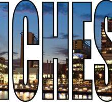 Manchester. Sticker