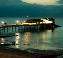 Cromer Pier at Dusk  by Rob Hawkins