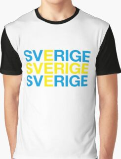 SWEDEN Graphic T-Shirt
