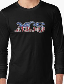 Stars and Stripes (distressed) Long Sleeve T-Shirt