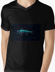 Natural History Fish Histoire naturelle des poissons Georges V1 V2 Cuvier 1849 188 Inverted Mens V-Neck T-Shirt