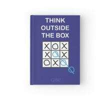 Think Outside the Box Hardcover Journal