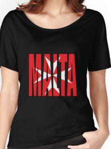 Malta Women's Relaxed Fit T-Shirt