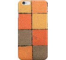 Colorful Sidewalk Paving Blocks iPhone Case/Skin