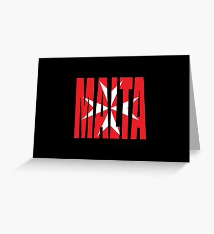 Malta Greeting Card