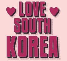 LOVE SOUTH KOREA One Piece - Long Sleeve