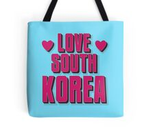 LOVE SOUTH KOREA Tote Bag