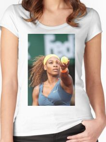 Serena Williams Women's Fitted Scoop T-Shirt