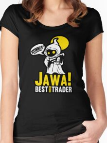 Best droid trader  Women's Fitted Scoop T-Shirt