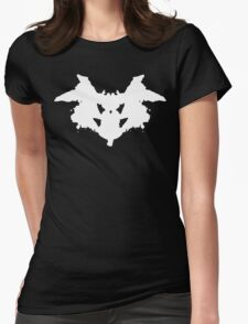 Rorschach Inkblot Womens Fitted T-Shirt