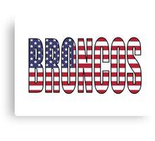 Broncos Canvas Print