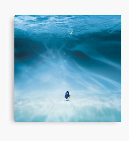 Dory is here Canvas Print
