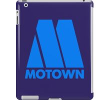MOTOWN DISCO RECORDS (BLUE) iPad Case/Skin