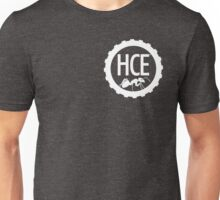 Here Comes Everyone: Minimalist Logo (Inverted) Unisex T-Shirt