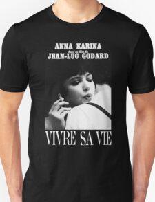 VIVRE SA VIE - JEAN LUC GODARD Unisex T-Shirt