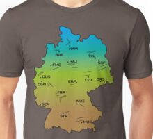 German Airports and Runways Unisex T-Shirt