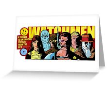 The Watchmen  Greeting Card