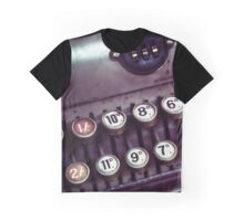 Vintage Cash Register Graphic T-Shirt