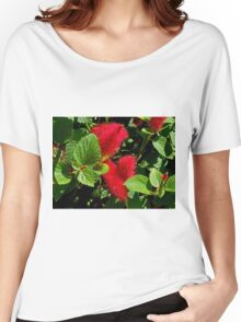 Robust Red Women's Relaxed Fit T-Shirt