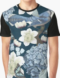 Bluebird Floral Graphic T-Shirt