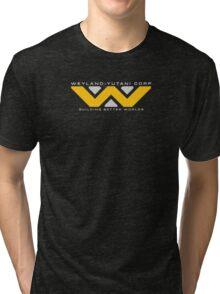 Weyland-Yutani (white font) Tri-blend T-Shirt
