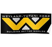 Weyland-Yutani (white font) Poster