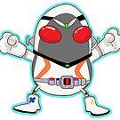 Kamen Rider Fourze by Smars