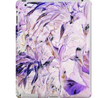 Purp on the leaves iPad Case/Skin